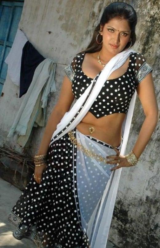 Sexy South Indian Saree Blouse