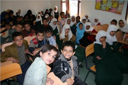 One of YERO's classrooms