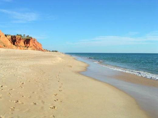 Over 200km of sandy beaches