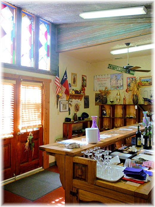 Inside the tasting room of Windy Winery
