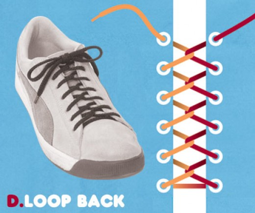 Style Shoe Lace Loop