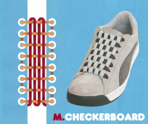 Different Ways To Lace Shoes With  Eyelets