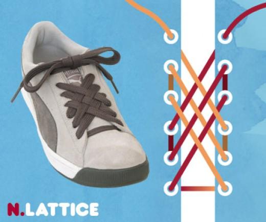 Different ways to tie a shoe lace the lattice sascha corti aka techpreacher - Comment faire ses lacets ...