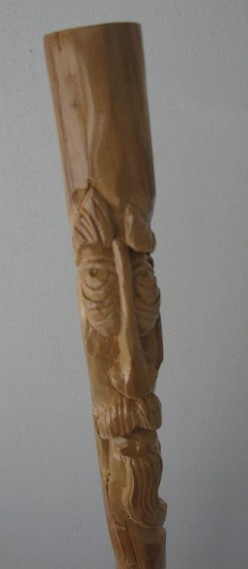 Wood Spirit Walking Sticks, Origins and current applications