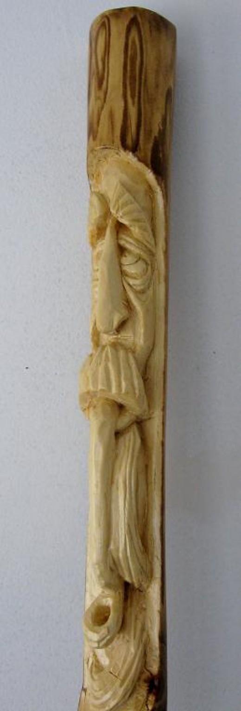 The Pipe Smoking Wood Spirit