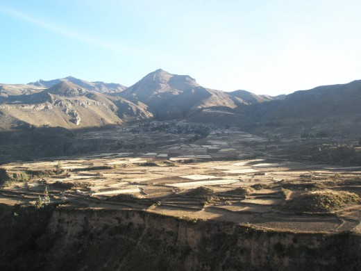 Peruvian mountains early in the morning