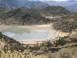 My journey through Peruvian mountains began near this magical lake, I sat there for a long time thinking about my own beginings...
