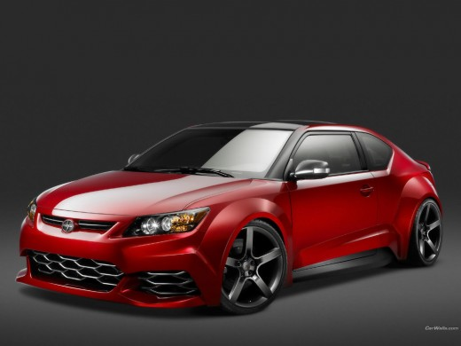Scion tC with Five Axis treatment