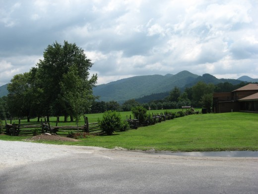 North Georgia Blueridge Mountains at Dillard House