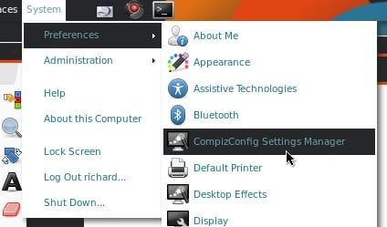 Compiz Manager Settings