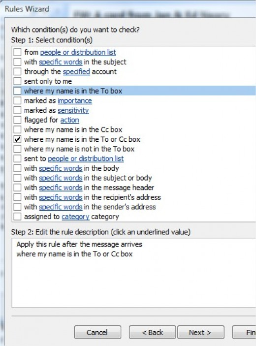 outlook 2010 how to set up away message