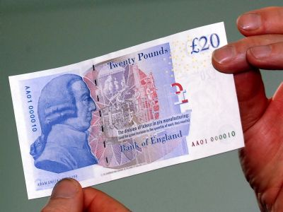 Irony: Adam Smith on the 20 Pound Note