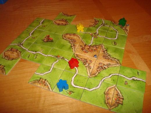 Carcassonne - Game setup