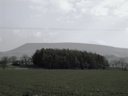 The mysterious Pendle hill. Famed for its witches in archaic times.
