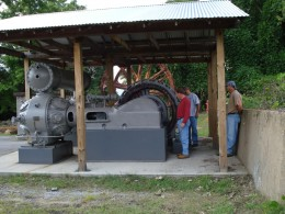 A large air compressor