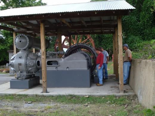 A large air compressor