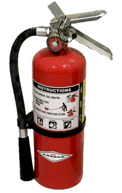 What type of fire extinguisher should you use on each type of fire
