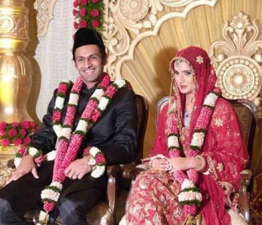 Charming couple-Sania and Shoaib, after the wedding