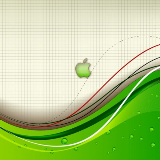 APPLE LOGO IPAD WALLPAPER. APPLE ABSTRACT IPAD WALLPAPER