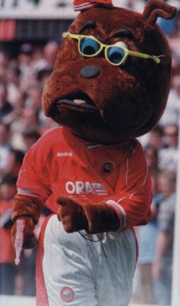 Surely the coolest mascot around!