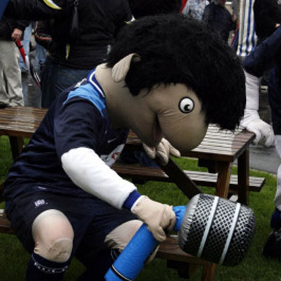 Elvis the Eel - Southend United