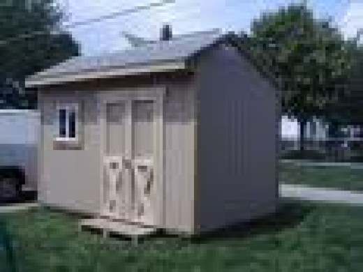 This is a very easy to build shed design that I have built 4 times now.  You can find it available from the Instruction plans found in the link to the left.