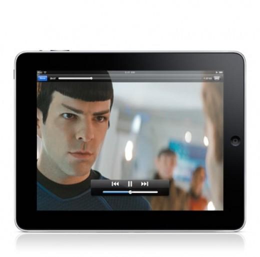 Apple ipad full screen high resolution video