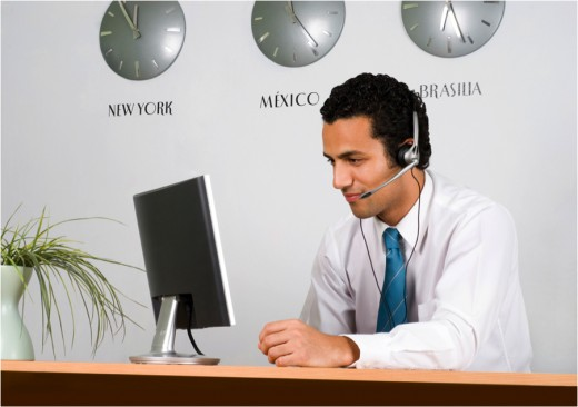 Inside sales reps have longer windows to make calls because they can do sales calls in every time zone.