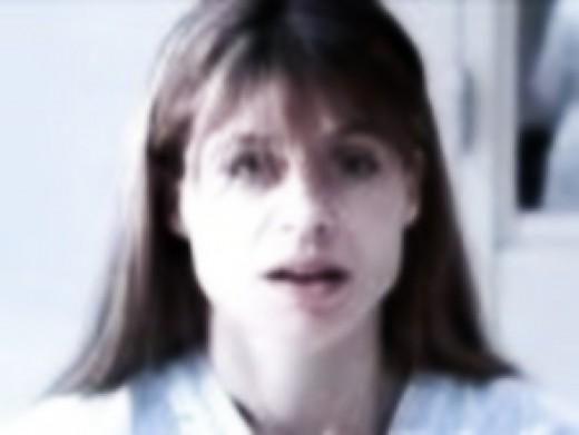 Linda Hamilton as Sarah Connor in Terminator 2