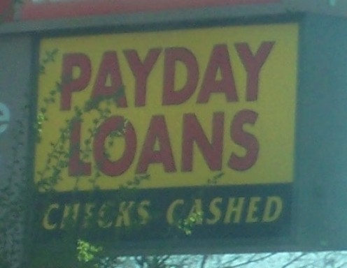 Payday Loans are available just about everywhere.