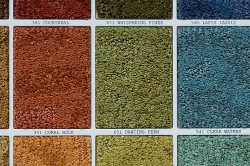 Carpet squares.