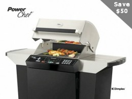 Save $50 on Dimplex Power Chef Electric Grills through May 31