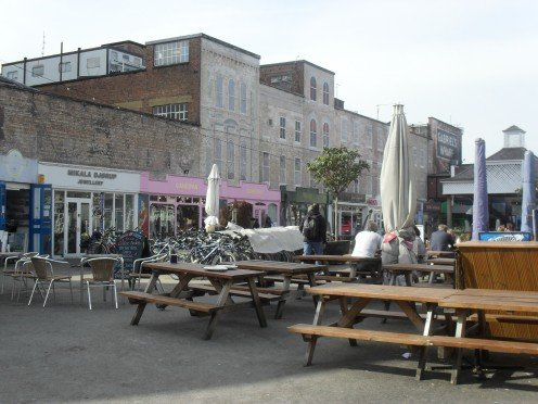 Gabriel's Wharf - food and assorted art shops