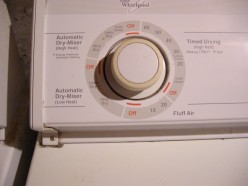 Do It Yourself Dryer Repair Made Easy: Electric Dryer will run but no Heat: Element, Thermostat?