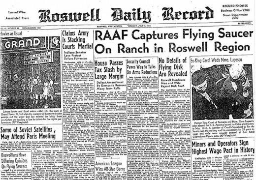roswell ufo incident. Roswell UFO Disclosure: Col.