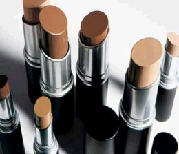 MAC foundation sticks...emollient based formula.