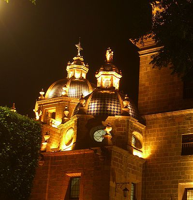 The Cathedral of Morelia in Michoacn, Mexico.