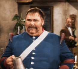 Henry Calvin as the ineffectual but amusing Sergeant Garcia - photo from commons.wikimedia.org
