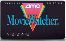 AMC MovieWatcher Card