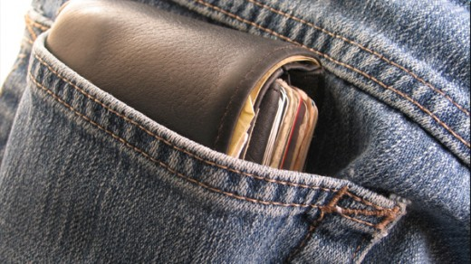 A wallet in your back pocket makes for a tempting target