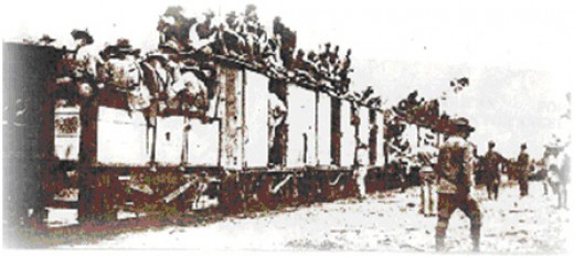 Manila-Dagupan Railroad. A train that uses this route is now exhibited in the city's plaza.