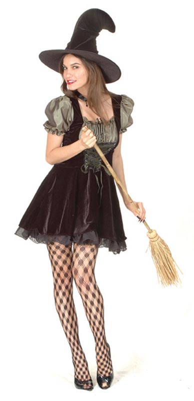 witch Costume - just 1 of many variations that you can purchase