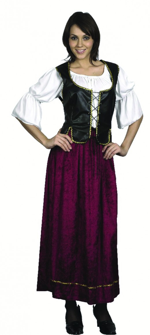 Wench Costume  sc 1 st  Holidappy & Costume Ideas Starting With The Letter W | Holidappy
