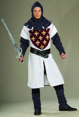 Warrior costume - you could use any fighting type of costume