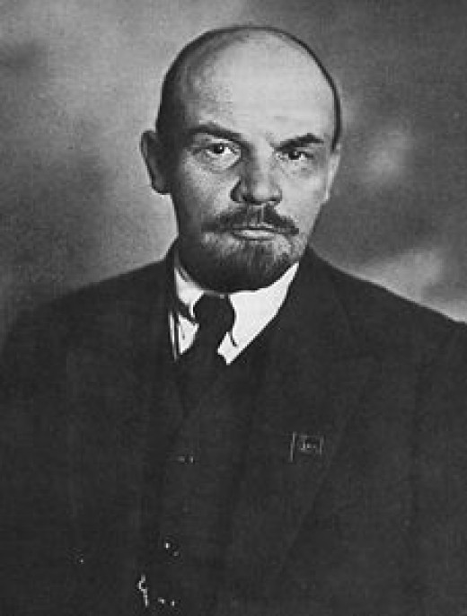 Lenin. The first leader of The Soviet Union.