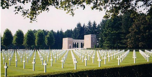 Rhone,France. A total of 861 men buried here.