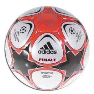 A really nice looking soccer ball the Adidas Finale 9 Sportivo Soccer Ball!