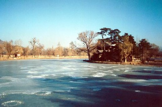 Chengde Frozen Lake.