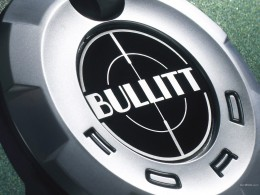 Ford Mustang Bullitt False Gas Cap Badge