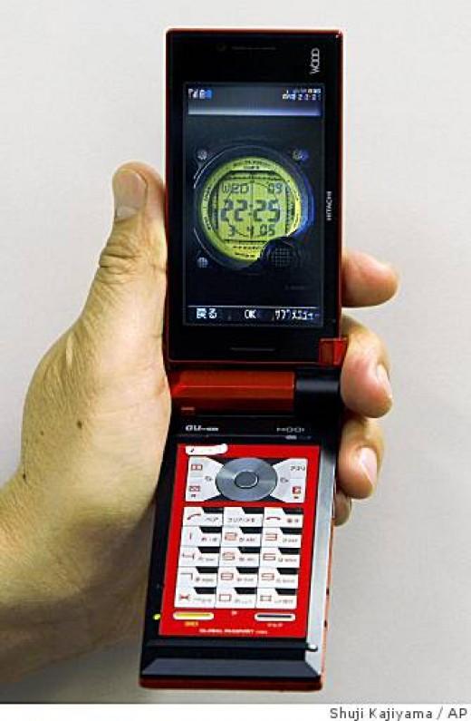Full LCD liquid crystal display phone
